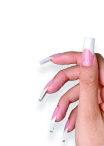Verlu00e4ngerung Der Ku00fcnstlichen Fingernu00e4gel Mit Tips Oder Schablonentechnik