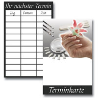 Nagelstudio Terminkarten